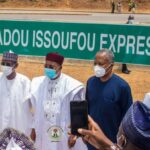 Buhari Names Abuja Expressway After President Of Niger Republic, Issoufou Mahamadou 12