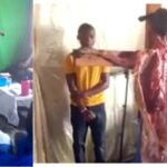 Church Members Seen Praying And Worshipping A Dead Goat Nailed To A Cross [Video] 31