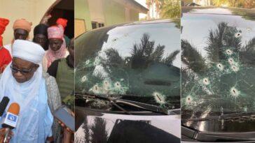Bandits Opens Fire On Emir Of Birnin Gwari's Convoy In Kaduna [Photos] 8