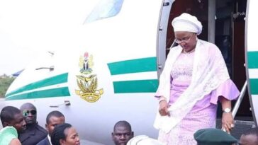First Lady, Aisha Buhari Returns To Nigeria After Six Months In Dubai 4