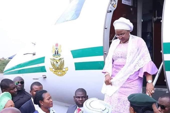 First Lady, Aisha Buhari Returns To Nigeria After Six Months In Dubai 1