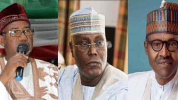 We Have Evidence Atiku Defeated Buhari In 2019 Presidential Election - Gov Bala Mohammed 2