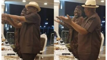 Governor Nyesom Wike And Senator Rochas Okorocha Seen Dancing At Public Gathering [Video] 3