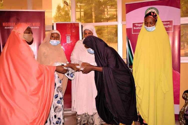 Nigerian Governors Wives Donates N200,000 To Two Rape Victims In Zamfara 1
