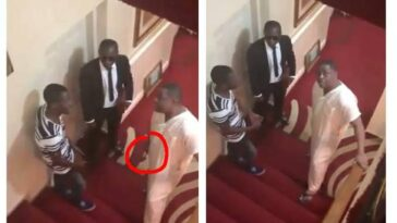 Fani-Kayode Caught On Camera Threatening His Domestic Staff With Hammer [Video] 3