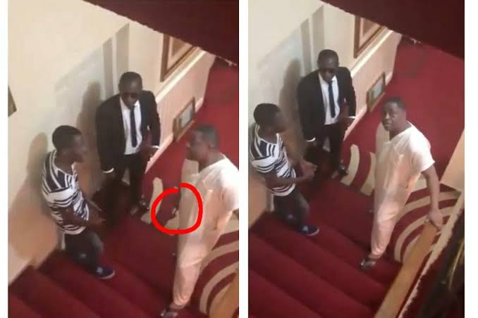 Fani-Kayode Caught On Camera Threatening His Domestic Staff With Hammer [Video] 1