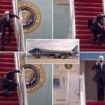 US President, Joe Biden Falls Three Times While Boarding Air Force One Aircraft [Video] 28
