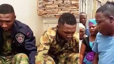 Sunday Igboho Captures Two Nigerian Soldiers 'Spying' On Him For Federal Government [Video] 7