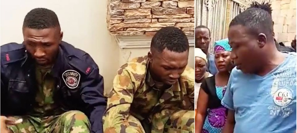 Sunday Igboho Captures Two Nigerian Soldiers 'Spying' On Him For Federal Government [Video] 1