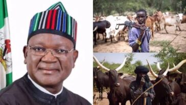 Governor Ortom 'Ran 1.5km' To Escape Death As Armed Herdsmen Attacked Him In Benue 5