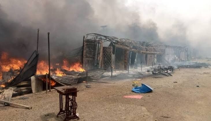 Hundreds Of Shops Burnt To Ashes As Fire Breaks Out At Katsina Central Market [Video] 1