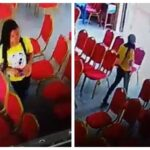 Lady Caught On CCTV Camera Stealing Phone Inside Living Faith Church In Warri [Video] 28