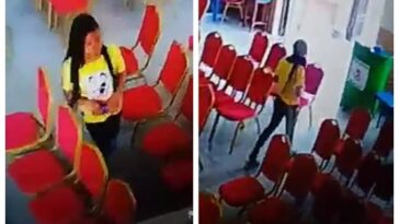 Lady Caught On CCTV Camera Stealing Phone Inside Living Faith Church In Warri [Video] 12