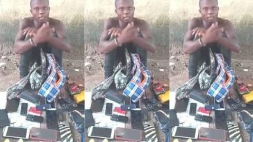 Police Arrests Serial Rapist With 9 Female Handbags, 13 Sim Cards, 9 Phones In Delta 10