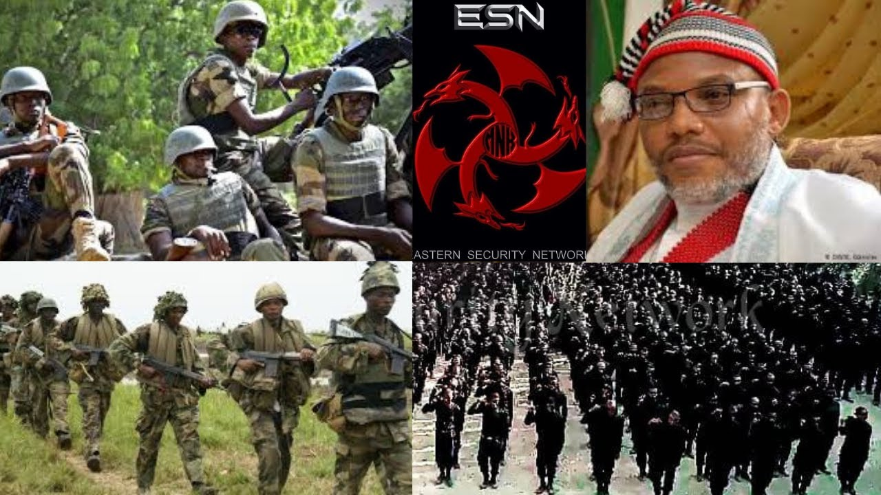 Nigerian Army Storms Onitsha, Creates Many Roadblocks In Search Of ESN Operatives 1