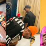 """E Don Spoil"" Trends As Wizkid And Bella Shmurda Link Up In Ghana [Video] 27"