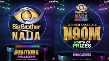 BBNaija Organisers Announces Audition For Season 6, Winner Gets N90 Million Grand Prize 2