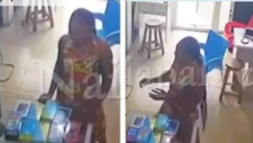 Young Lady Caught On Camera Stashing Stolen Phone In Her Underwear At PH Shop [Video] 11