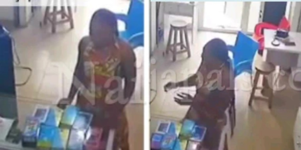 Young Lady Caught On Camera Stashing Stolen Phone In Her Underwear At PH Shop [Video] 1