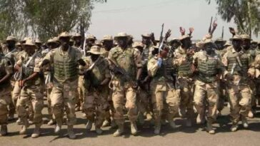 Nigerian Soldiers Protest Over Unpaid Allowances And Poor Equipment In Borno 5