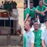 Nigeria's Super Eagles Arrives Benin Republic By Boats Ahead Of AFCON Qualifiers [Photos/Video] 28