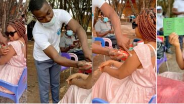 Actress Regina Daniels Takes COVID-19 Vaccine Shot, Says No Side Effects [Photos/Video] 3