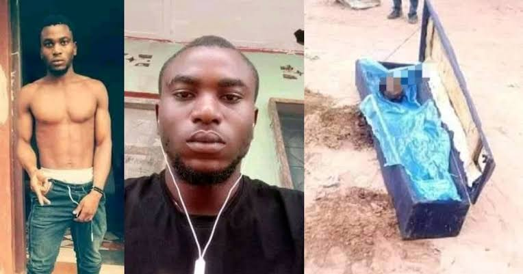 Man Kills His Mom, Cuts Off Her Head And Buries Her In Shallow Grave In Enugu [Photos] 1