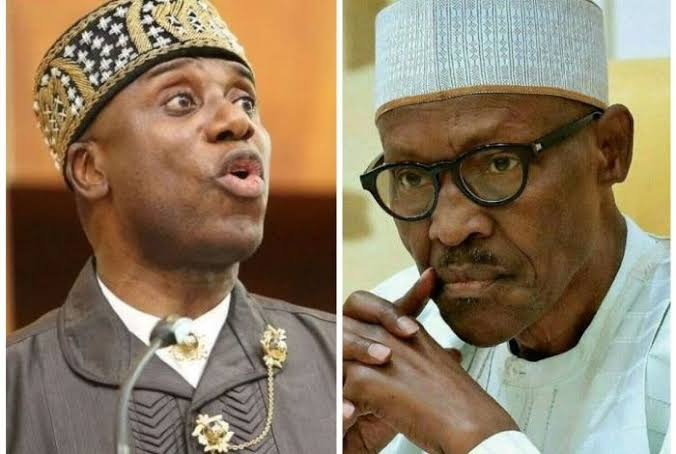 Buhari Has Been Printing Money, We Swore An Oath Never To Tell Nigerians - Amaechi [Video] 1