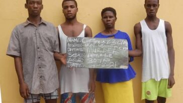 Woman, Four Others Arrested For Beating Her Step-Son To Death Over N100,000 Debt 2