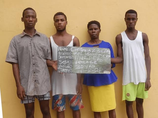 Woman, Four Others Arrested For Beating Her Step-Son To Death Over N100,000 Debt 1