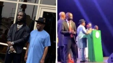 Governor Wike Gifts Artistes At Burna Boy's Homecoming Party N10 Million Each [Video] 5