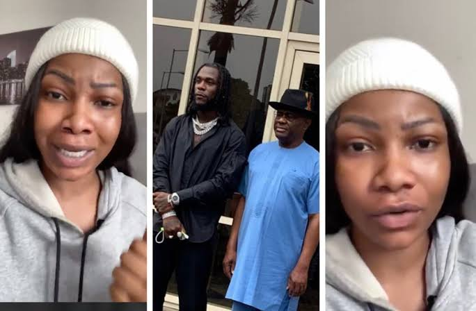 """""""You Are Mad"""" - Tacha Slams Nigerians Criticising Governor Wike's Gifts To Burna Boy [Video] 1"""