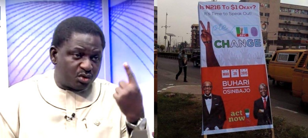 Femi Adesina Says Buhari Never Promised To Make One Naira Equal To One Dollar [Video] 1