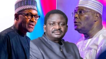 """You Are Part Of Nigeria's Problem"" - Femi Adesina Slams Atiku Over Attack On Buhari 2"