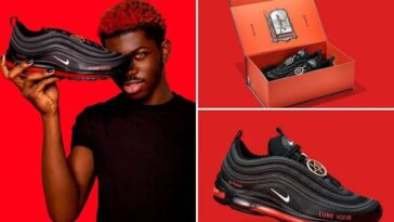 Nike Sues Designer Of Lil Nas X 'Satan Shoes' Containing Real Human Blood 1
