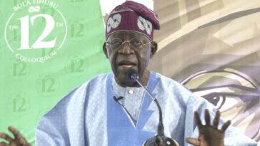 I Celebrated My Birthday In Kano To Prove 'Yoruba And Fulani Are One' - Bola Tinubu 2