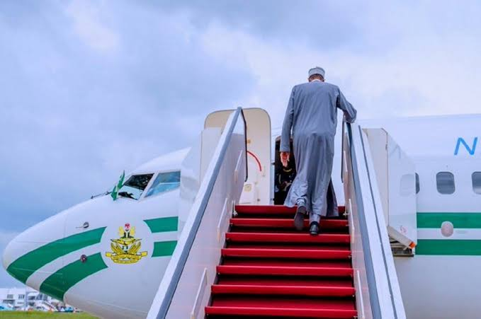 President Buhari Travels To London For Medical Check-Up, Returns In Two Weeks 1