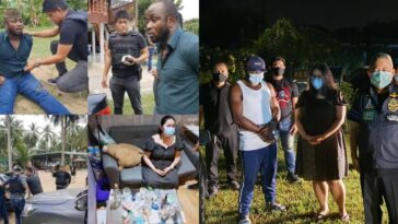 Nigerian Man And His Girlfriend Arrested In Thailand For Allegedly Peddling Cocaine [Photos] 11