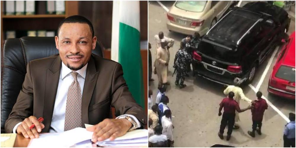 CCT Chairman, Justice Umar Danladi Publicly Assaults Security Guard At Abuja Plaza [Video] 1