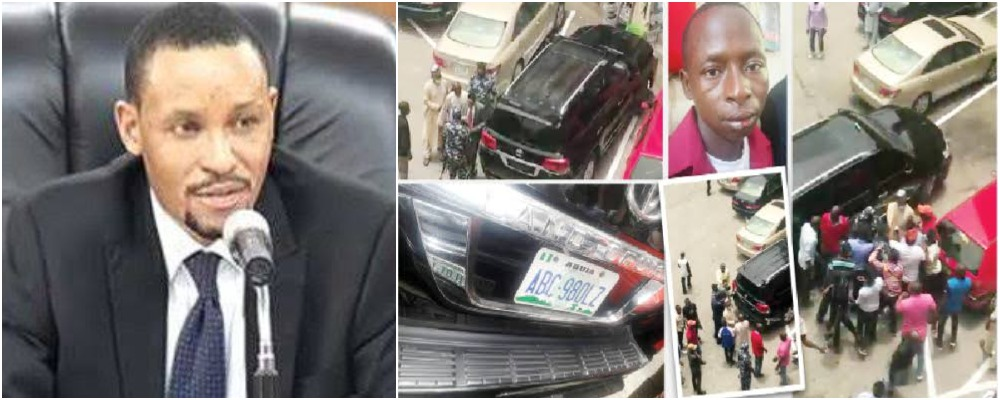 """""""He Was Rude"""" - Justice Umar Danladi Reveals Why He Assaulted Security Guard In Abuja 1"""