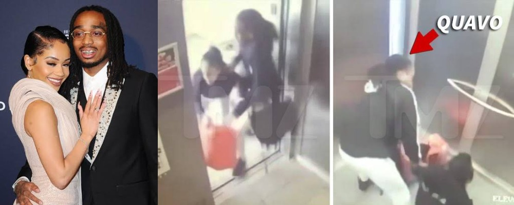 Leaked Footage Shows Quavo And Saweetie Fighting In Elevator Before Their Breakup [Video] 1