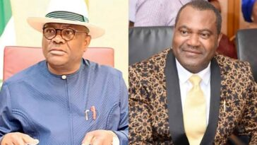 Governor Nyesome Wike Sacks Rivers Commissioner Of Environment, Igbiks Tamuno 12
