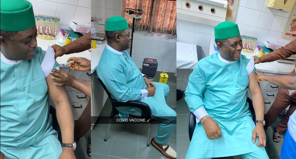 Fani-Kayode Takes COVID-19 Vaccine After Describing It As Evil And 'Gates Killer Vaccine' 1