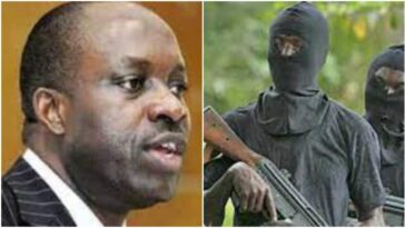 Charles Soludo Attack: Pictures of the gunmen attack on former CBN Governor Chukwuma Soludo 3