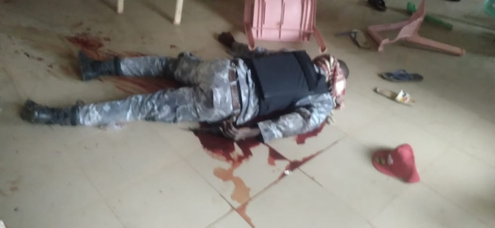 Charles Soludo Attack: Pictures of the gunmen attack on former CBN Governor Chukwuma Soludo 7