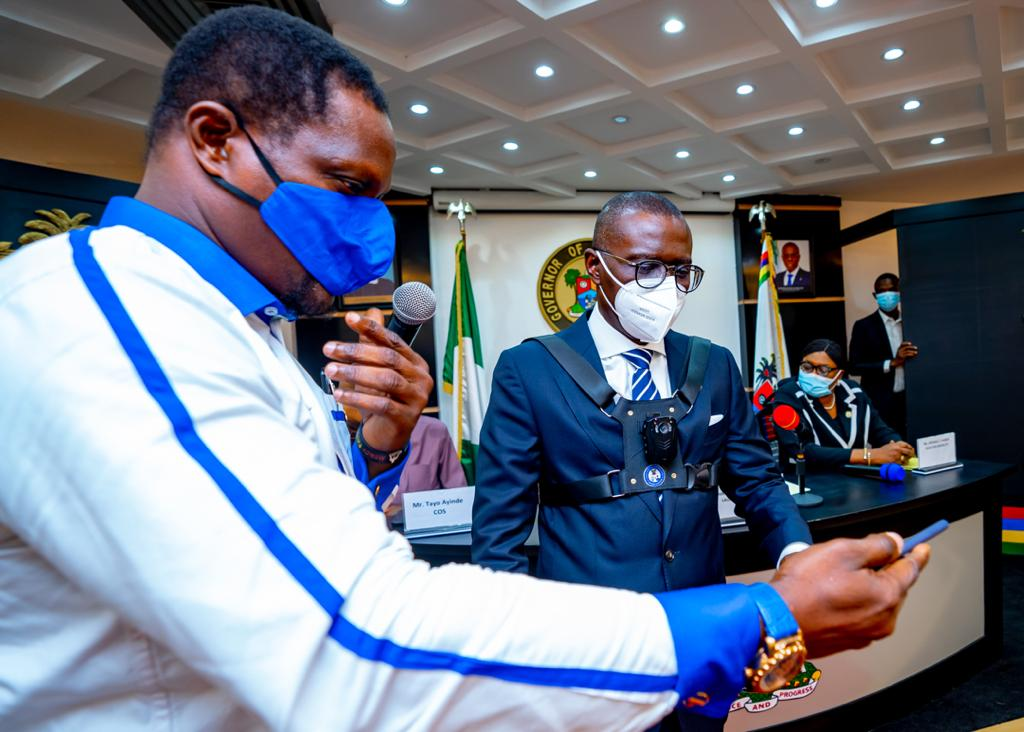 Governor Sanwo-Olu Unveils Body Cameras To Be Worn By Security Personnel In Lagos [Photos] 3
