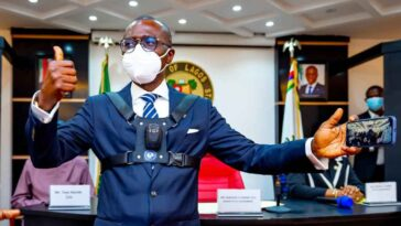 Governor Sanwo-Olu Unveils Body Cameras To Be Worn By Security Personnel In Lagos [Photos] 8
