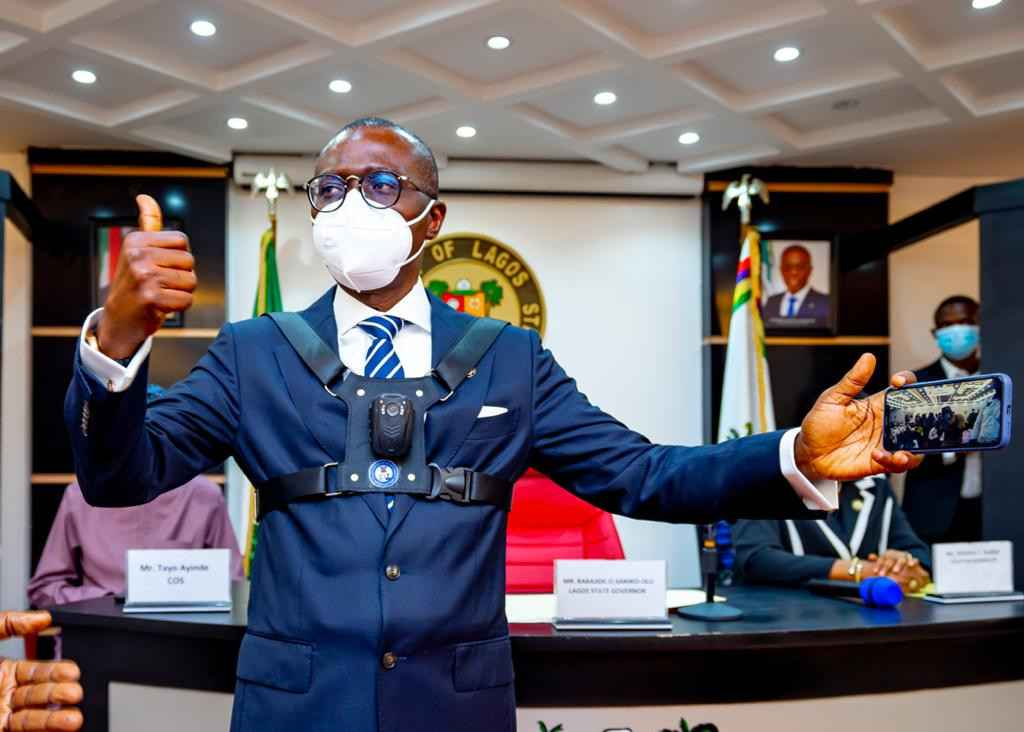 Governor Sanwo-Olu Unveils Body Cameras To Be Worn By Security Personnel In Lagos [Photos] 2