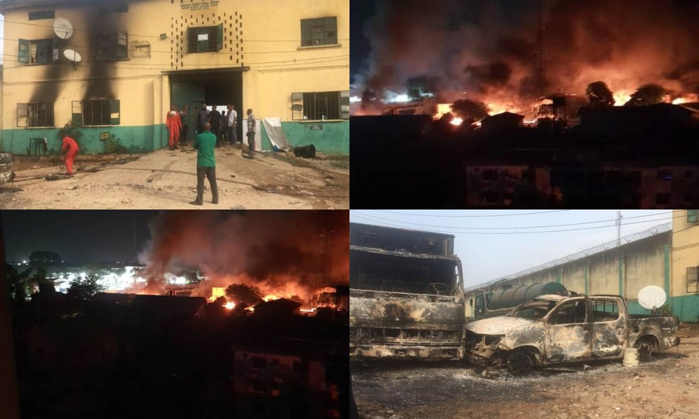 Many Inmates Freed As Gunmen Attack Owerri Prison, Police Headquarters In Imo [Video] 1