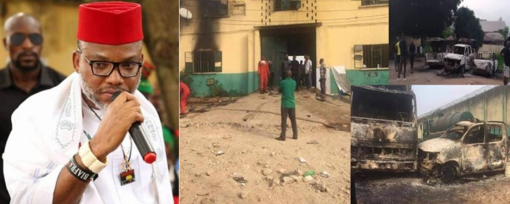 """""""We Are Not Unknown Gunmen"""" - IPOB Denies Attacking Owerri Prison And Police Headquarters 1"""